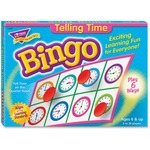Trend Telling Time Bingo Game TEP6072