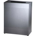 United Receptacle Open Top Waste Receptacle RCPSR18EPLSM