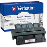 Verbatim HP C4127X Remanufactured High Yield EP-52 Toner Cartridge for LaserJet 4000, 4050 Series VER93476
