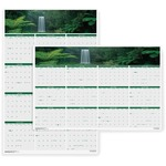 House of Doolittle Earthscapes Waterfalls of the World Wall Calendar HOD397