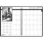 House of Doolittle Black on White Planner HOD216202