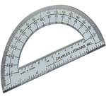 "CLI 6"" Open Center Protractor LEO77106"