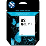 HP 82 Ink Cartridge - Black HEWCH565A