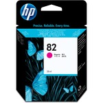 HP 82 Magenta Ink Cartridge HEWCH567A