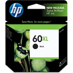 HP 60XL High Yield Black Original Ink Cartridge HEWCC641WN