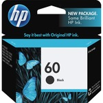 HP 60 Ink Cartridge - Black HEWCC640WN