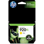HP 920XL High Yield Yellow Original Ink Cartridge HEWCD974AN