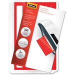 Fellowes Glossy Pouches - File Card, 5 mil, 100 pack FEL52017