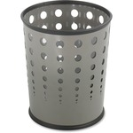 Safco Steel Bubble Wastebasket SAF9740GR
