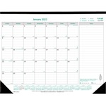 Brownline EcoLogix Monthly Desk Pad Calendar REDC177437