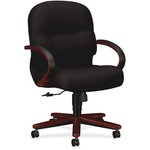 HON Pillow-soft 2190 Series Mid Back Management Chair HON2192NNT10