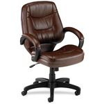 Lorell Westlake Series Mid Back Management Chair LLR63283