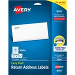 Avery Easy Peel Return Address Label AVE8195