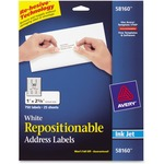 Avery Repositionable Mailing Label AVE58160