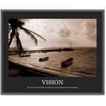 "Advantus Motivational ""Vision"" Poster AVT78163"