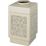 Safco Canmeleon Open Top Waste Receptacle SAF9471TN