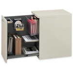 HON Flagship Left Side Access Pedestal File Cabinet HONS28821LALL