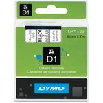 "Dymo D1 43610 0.25"" Tape DYM43610"
