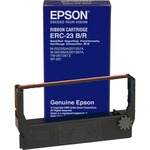 Epson Ribbon Cartridge - Black, Red EPSERC23BR