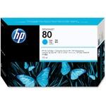 HP 80 Cyan Ink Cartridge HEWC4872A
