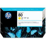 HP 80 Yellow Ink Cartridge HEWC4873A