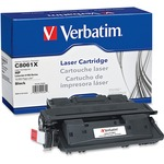 Verbatim 94464 Toner Cartridge - Replacement for HP (C8061X) - Black VER94464