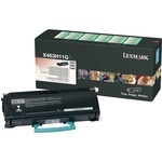 Lexmark High Yield Return Program Black Toner Cartridge LEXX463H11G