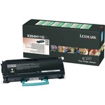 Lexmark High Yield Return Program Black Toner Cartridge LEXX264H11G