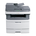 Lexmark X364DN Laser Multifunction Printer - Monochrome - Plain Paper Print - Desktop LEX13B0502