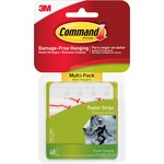 Command Adhesive Poster Strip MMM17024VP