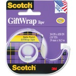 Scotch GiftWrap Transparent Tape MMM15