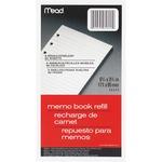 Mead Memo Book Refill Paper MEA46534
