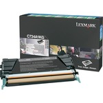 Lexmark Black Return Program Toner Cartridge LEXC734A1KG