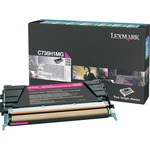 Lexmark Magenta High Yield Return Program Toner Cartridge LEXC736H1MG