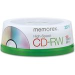 Memorex High Speed CD-RW Discs MEM03424