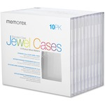 Memorex Standard CD Jewel Case MEM01901