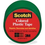 Scotch Extra Stretchy Colored Plastic Tape MMM191GN