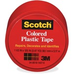 Scotch Extra Stretchy Colored Plastic Tape MMM191RD