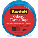 Scotch Extra Stretchy Colored Plastic Tape MMM190BE