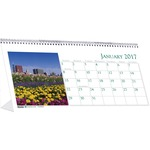 House of Doolittle Garden Desktop Tent Calendar HOD309