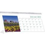 House of Doolittle Garden Desktop Tent Calendar HOD309