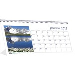House of Doolittle Scenes Desktop Tent Calendar HOD3649