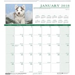 House of Doolittle Earthscapes Puppies Wall Calendar HOD3651