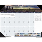 House of Doolittle Earthscapes Mountains of the World Desk Pad Calendar HOD176