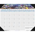 House of Doolittle Earthscapes Sea Life Desk Pad Calendar HOD1936