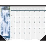 House of Doolittle Earthscapes Waterfalls of the World Desk Pad Calendar HOD1716