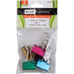 Baumgartens Metallic Colored Binder Clip BAU29730