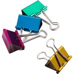 Baumgartens Metallic Colored Binder Clip BAU29740