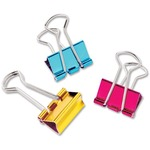 Baumgartens Metallic Colored Binder Clip BAU29710