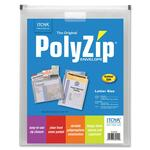 Itoya PolyZip Vertical Envelope ITYPZ60CR